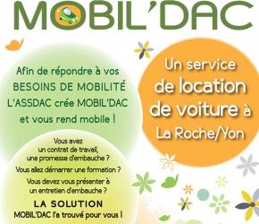MOBIL D'AC - Location de véhicules pas cher