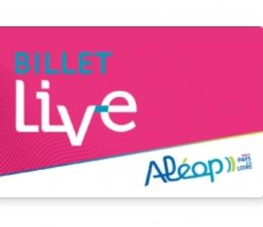 Billet Live - Pays de la Loire