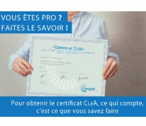 Certificat CléA - Copanef