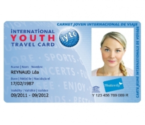 Carte IYTC - International Youth Travel Card