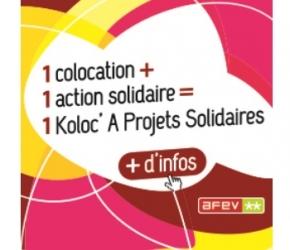 Koloc' A Projets Solidaires pour les étudiants et jeunes volontaires