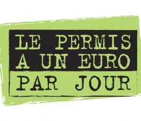 Permis de conduire (permis B et A) à 1 euro par jour