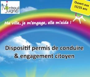 Permis de conduire citoyen - Montreuil-Juigné