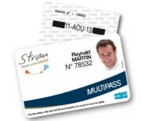 Abonnement STRAN Multipass - Transports CARENE / Saint-Nazaire