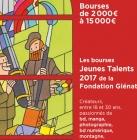 Bourses Fondation Glénat artistes/créateurs 2017