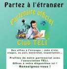 Les offres d'emploi et de stage à l'étranger avec le Club Teli