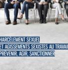 Un guide pour prévenir le harcèlement au travail