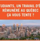 Partir en job d'été au Québec contre l'hébergement d'un(e) Québécoise à Laval !