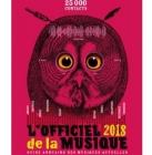 L'officiel de la musique 2018