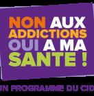 Non aux addictions Oui à ma santé_semaine d