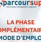 Parcoursup_Admission post bac 2018 2019_phase complémentaire_www.parcoursup.fr