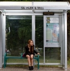 arrêt de bus à la demande en test à Nantes