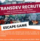 Transdev recrute par Escape game et simulation de conduite