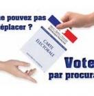 Vote(r) par procuration 2017