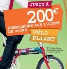 Subvention à l'achat d'un vélo pliant Pays de la Loire